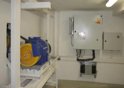 Strojovna Lůžkový výtah Nemocnice Na Františku, Praha 1-08